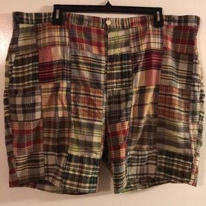 Men's Polo Madras Shorts